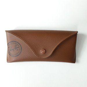 RAY-BAN brown sunglass case